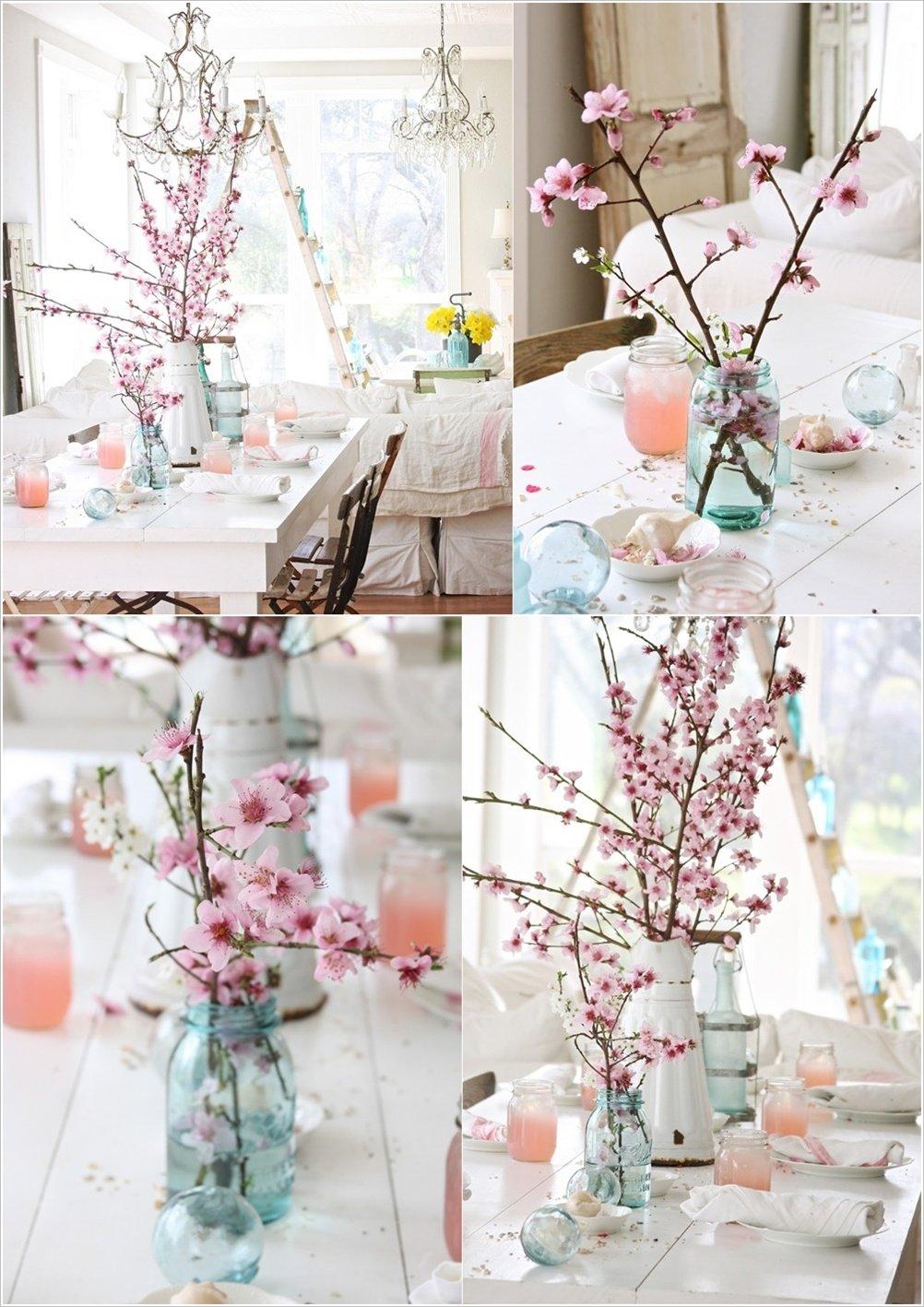 Tavaszi Dekorci Cseresznyevirgzs Otthon