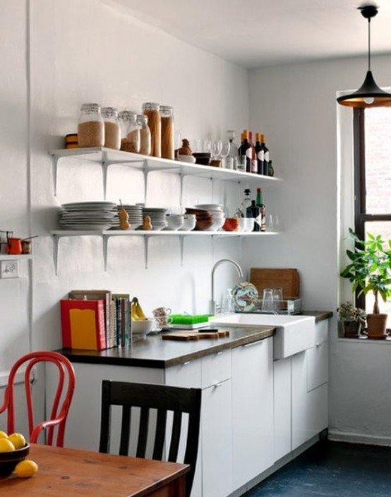 Small Kitchen Design Ideas And Solutions: DettyDesign Lakberendezés